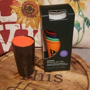 Starbucks 2020 Halloween bundle glow in dark cups